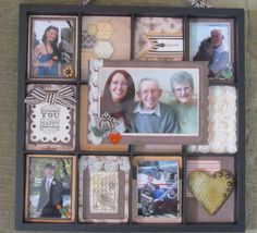 Display Tray by Sara Batkins using CTMH Buzz and Bumble paper