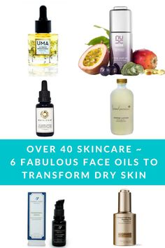 As we get older, our skin tends to lose moisture and get drier, that's why I love using Face Oils on my dry 40 Plus skin. Here are 6 of my favorite anti-aging face oils to transform your skin
