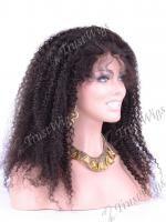 Malaysian Virgin Hair Full Lace Wig tight curl VFLW272