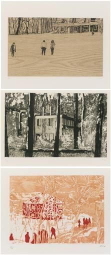 Peter Doig, TEN ETCHINGS (SEE C.A.P PAGE 46-59)