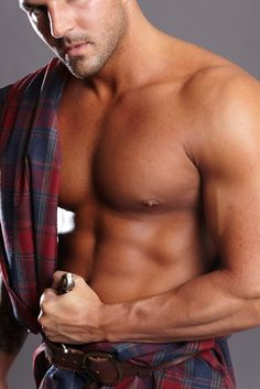 Hot Highlander-- one of the highlanders in the maya banks series...