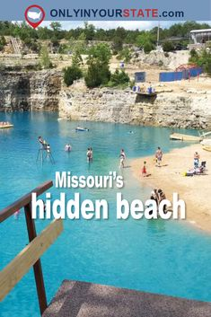 This Hidden Beach In Missouri Will Take You A Million Miles Away From It All - trip Top Travel Destinations, Best Places To Travel, Vacation Places, Vacation Trips, Vacation Spots, Vacation Ideas, Italy Vacation, Summer Vacations, Beautiful Places To Visit