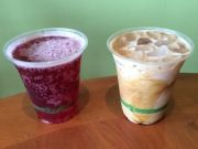 """Jordan Champagne and husband Todd preach """"pickle power"""" at Happy Girl Kitchen in Pacific Grove, which includes tart, fruit flavored Lev's Original #Kombucha"""