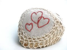 Hey, I found this really awesome Etsy listing at https://www.etsy.com/listing/71934169/crochet-lace-stone-valantines-day-gift