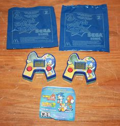 2004 Sonic The Hedgehog McDonalds Happy Meal SEGA Handheld Game Toy - I remember playing on these for a very long time while I ate my chicken mcnuggets.