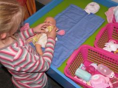 Imaginative Play: Ideas for setting up a Baby Care Corner