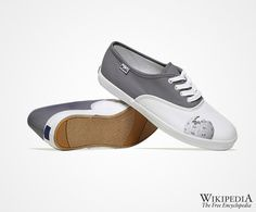 The WikiPedia shoes