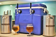 Complete Jockey Box | 2 x 5L Kegs On Tap Anywhere   #keg #beer #craftbeer #growler #minikeg #craftbeernotcrapbeer #homebrew #brewing #growlerfillfriday