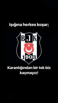 I'm Besiktas! – White and Black Wallpaper
