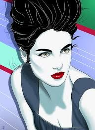 Image result for patrick nagel