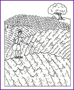 Maze (Parable-Sower and Seed) - Kids Korner - BibleWise