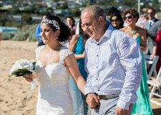 Wedding on Carrum Beach