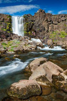 Rift Valley. Pingvellir National Park. Golden Circle. Iceland, Europe.