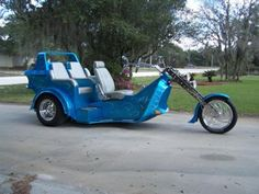 1700 CC TRIKE w CUSTOM PAINT