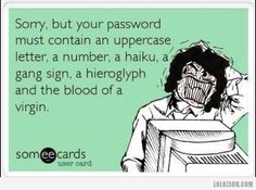Scumbag password