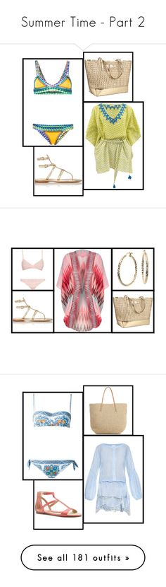 """""""Summer Time - Part 2"""" by miriam83 ❤ liked on Polyvore featuring Whiteley, Haute Hippie, H&M, men's fashion, menswear, Post-It, Ray-Ban, Crate and Barrel, Industrie and Ultimate"""