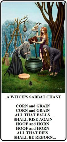 A Witch's Sabbath Chant