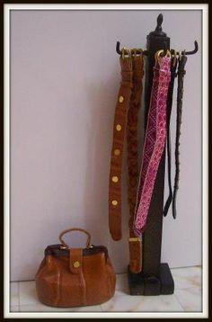 Jorgelina Ferreyra. Belts & purses #miniatures