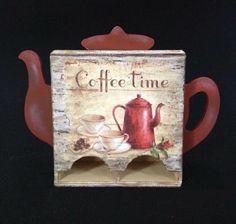 Caja vintage para guardar las bolsitas de té Bottle Opener, Barware, Mugs, Country, Tableware, Vintage, Ideas, Boxes, Sachets