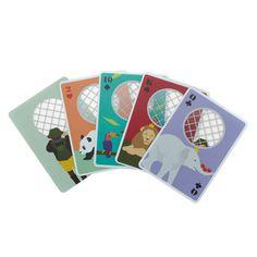 I.D.E.A. - Zoo Playing Card - Spillekort