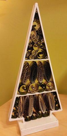 Vánoční stromeček - quilling.