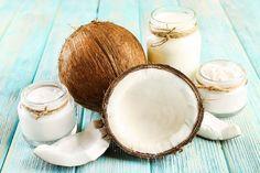 Kokosöl Kosmetik selber machen - Rezept für eine selbst gemachte Kokosöl Haarmaske zur Pflege der Kopfhaut aus nur 3 Zutaten ...