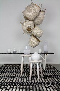 Goround interior, Winter collection 2016, White selection