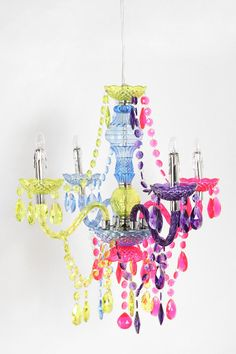 Everyone can use a little rainbow lighting - Plum & Bow Artemis Chandelier