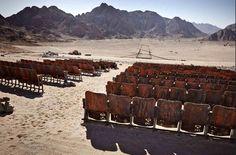 """""""A volte il miglior cinema è la tua immaginazione."""". Da  """"Il cinema nel deserto"""" in #Cantalamappa di @Wu_Ming_Foundt"""