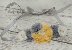 Flower girl sash Belt Girls Shash Bridemaids sash by ThinkPinkBows, $17.95