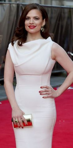 23 Times Hayley Atwell Gave Us New Glamour Goals