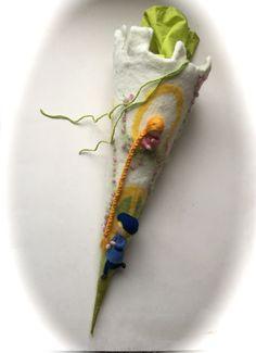 Schultüten - Schultüte Zuckertüte Rapunzel. - ein Designerstück von Filz-Art bei DaWanda