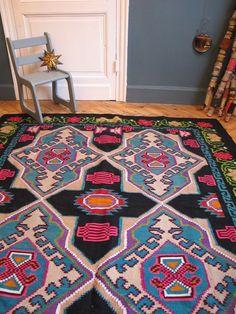 tapis bohemian style