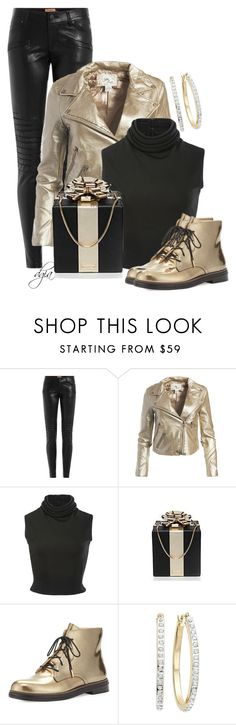 """Jimmy Choo Boot"" by dgia ❤ liked on Polyvore featuring True Religion, Sans Souci, Brandon Maxwell, Kate Spade and Jimmy Choo"