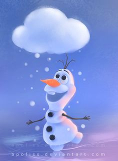 Disney Frozen Olaf by apofiss #DisneyFrozen