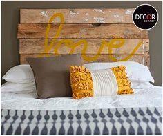 Personaliza la cabecera de tu cama con este tip creativo. ¡Inténtalo!
