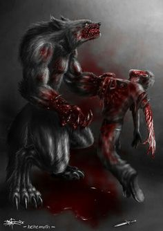 O_O 95% of the time a lycan will always win against a half-breed