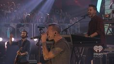 Linkin Park at the iHeartRadio Music Festival 2012. #iHeartRadio #LinkinPark - Listen to your own Linkin Park inspired station on iHeartRadio: http://www.iheart.com/artist/Linkin-Park-58351/