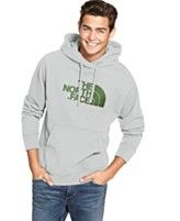 The North Face Hoodie, Half Dome Fleece Logo Hoodie