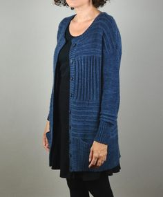 This cardigan is cozy as well as elegant. It is fabulous worn with jeans and equally lovely paired with your cutest winter skirts! Find this knitting pattern and more inspiration at LoveKnitting.Com.