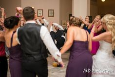 The groom dancing at his #reception. From Kim and Billy's reception at the Railroad Museum in Galveston, TX. #weddingmoments #weddingphotography #texasweddingphotographers #janddproductions #cuteweddingpictures #funweddingmoments #candidweddingmoments #candidweddingpictures #texasweddings #receptionfun #funweddings #weddingdancing #groom