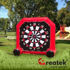 Quick delivery from Europe's leading manufacturer of inflatable games. Inflatable Bounce House, Inflatable Slide, Darts Game, Logo Shapes, Bouncy Castle, Indoor Playground, Sports Games, Design Your Own, Playroom
