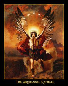 Archangel Raphael - Howard David Johnson