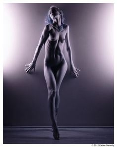Fine Art Nude - Infrared 1