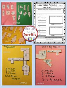 Using area and perimeter to find specific shapes! Students find ten different shapes and then create the perfect doghouse within a specific area! STEM Challenge! #STEM #Engineering #teacherspayteachers