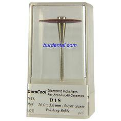 Super coarse Grit Wheel Shape HP Shank Diamond Polisher (D1S)