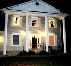 25 ideas to decorate windows with silhouettes on halloween shelterness halloween pinterest holidays halloween window and halloween silhouettes