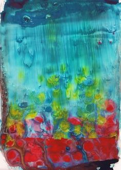 Abstract art Awesome Day Print by KathyPanton on Etsy. $15.00, via Etsy.