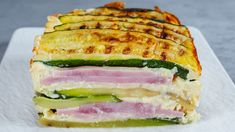Fresco, Zucchini, Sandwiches, Dinner, Prosciutto, Food, Zucchini Tart, Chicken Kitchen, Appetizers