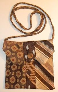 recycled neck ties!